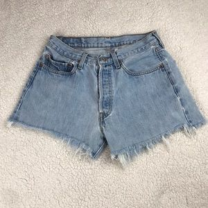 Vintage High-Rise Levi's 501 Cutoff Shorts